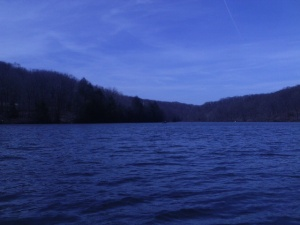 Raccoon Lake in Raccoon Creek State Park