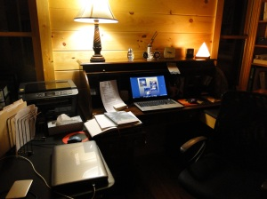 Office at Cabin