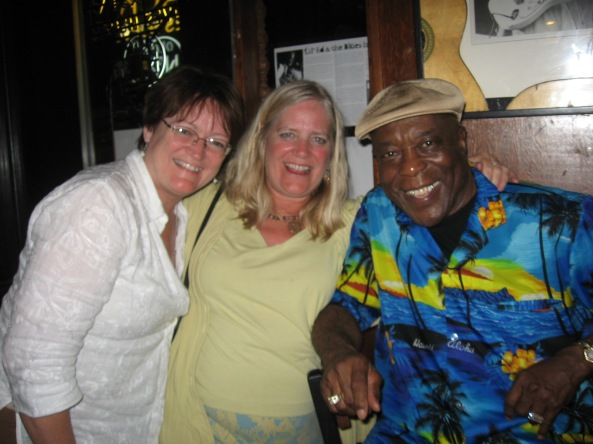A brush with Buddy Guy at his club in Chicago